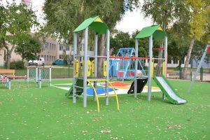 Új játszótér a Száva parkban