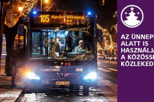 Adventi és karácsonyi közlekedés Budapest